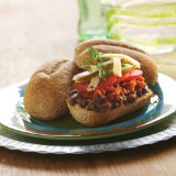 Chorizo, Avocado & Black Bean Tortas