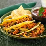 Chorizo Tacos with Roasted Chiles