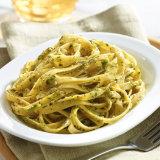 Cilantro Jalapeño Pesto Noodles