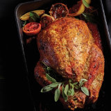 Citrus Herb And Parmesan Crusted Turkey