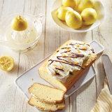 Citrus Pound Cake with Lemon Basil Icing