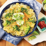 Coconut Chicken & Veggie Noodle Bowl