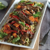 Coconut-Lime Seared Beef