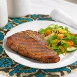 Cowboy Steaks With Redeye Rub