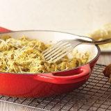 Creamy Kale Pesto Chicken Fettuccine