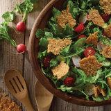 Crispy Pecorino Panzanella Salad