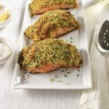 Crunchy Lemon Chive Salmon