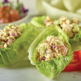 Curry Tuna Salad Wraps