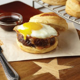 Easy Breakfast Sausage Sandwich