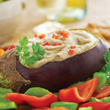 Eggplant and Garlic Dip