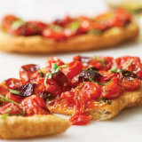 Flatbread Friti with Mesquite Roasted Tomatoes