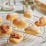 Fried Dough with Cardamon Sugar & Amalou Sauce