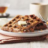 Gingerbread Toffee Waffles