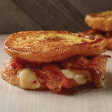 Glazed Donut Bacon Breakfast Grilled Cheese