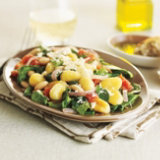 Gnocchi with Power Greens and White Beans