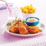 Golden Oven-Fried Chicken Tenders