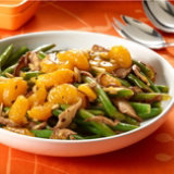 Green Bean & Orange Stir Fry