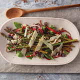 Grilled Asparagus Salad with Smoked Idiazabel