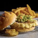 Grilled Cauliflower Steak Burger