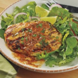 Grilled Chicken Paillard with Chili Lime Butter