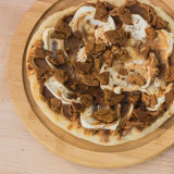 Grilled Cookie Butter and Mascarpone Pizza