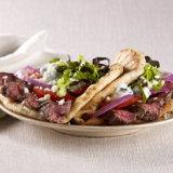 Grilled Lamb Steak Gyros