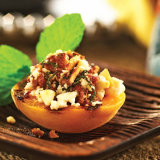 Grilled Mediterranean Stuffed Apricots