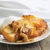 Grilled Pineapple Pound Cake