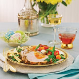 Grilled Pork Loin with Apricot Sauce