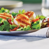 Grilled Scallops with Grapefruit Vinaigrette