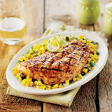 Grilled Snapper With Sweet Corn Salsa