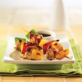 Grilled Teriyaki Pineapple Pork Skewers