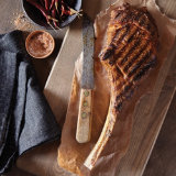 Grilled Tomahawk with Homemade Chile de Arbol Salt