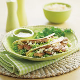 Grilled Tuna & Feta Tacos