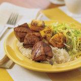 Grilled Tuna-Pineapple Kabobs
