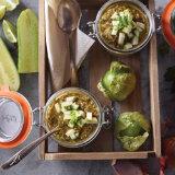 Hatch Pepper Green Gazpacho
