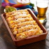 Healthy Shrimp Enchiladas
