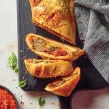Hearty Meatball Stromboli