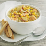 Hearty Salmon Soup