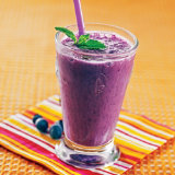 High Protein Blueberry Vanilla Smoothie