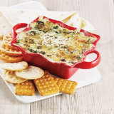 Holiday Artichoke Spinach Dip