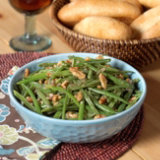 Holiday Green Beans with Toasted Walnuts