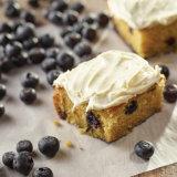 Homemade Blueberry Butter Cake