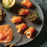 Homemade Cured Smoked Salmon