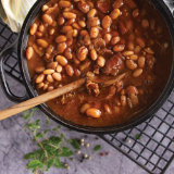 Homemade Sweet & Smokey Baked Beans