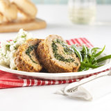 Italian Turkey And Spinach Meatloaf