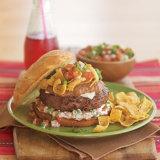 Kaiser Roll Bean Burger