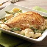 Lemon Chicken & Asparagus Alfredo
