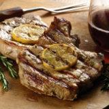 Lemon-Rosemary Grilled Pork Chops