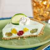Lime Fruit Cocktail Pie